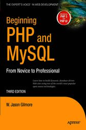 Beginning PHP and MySQL by W Jason Gilmore