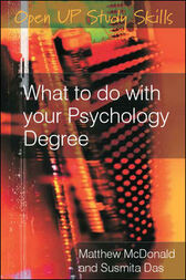What to Do with Your Psychology Degree by Matthew McDonald
