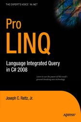 Foundations of LINQ in C# by Joseph C. Jr. Rattz