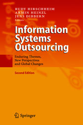 Information Systems Outsourcing by Rudy Hirschheim