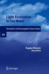 Light Absorption and Absorbents in Sea Waters