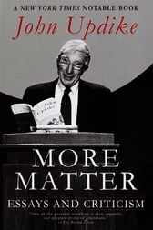More Matter by John Updike
