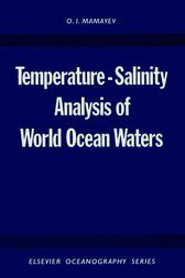 Temperature-Salinity Analysis of World Ocean Waters by O.I. Mamayev