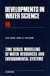 Time Series Modelling of Water Resources and Environmental Systems by K.W. Hipel