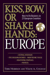 Kiss, Bow, or Shake Hands Europe by Terri Morrison