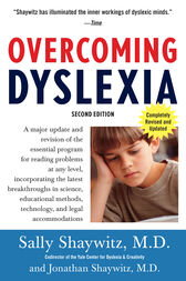 Overcoming Dyslexia by Sally Md Shaywitz