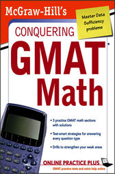 McGraw-Hill's Conquering the GMAT Math by Robert E. Moyer