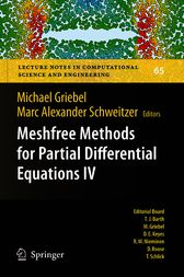 Meshfree Methods for Partial Differential Equations IV by Marc Alexander Schweitzer