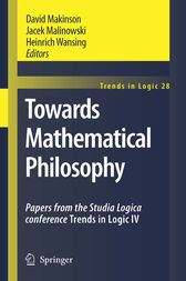 Towards Mathematical Philosophy by Vincent F. Hendricks