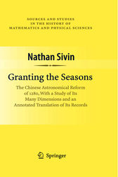 Granting the Seasons by Nathan Sivin