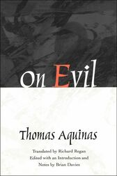 On Evil by Thomas Aquinas