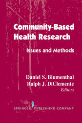 Community- Based Health Research by Daniel S. Blumenthal