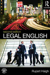 Legal English by Rupert Haigh
