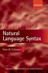 Natural Language Syntax