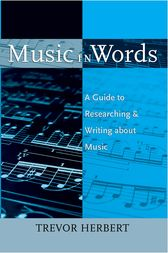 Music in Words by Trevor Herbert