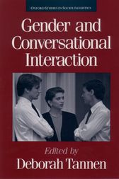 Gender and Conversational Interaction by Deborah Tannen