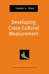 Pocket Guide to Developing Cross-Cultural Measurement in Social Work Research and Evaluation by Thanh V. Tran