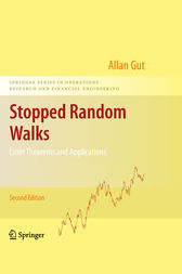 Stopped Random Walks by Allan Gut