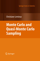 Monte Carlo and Quasi-Monte Carlo Sampling by Christiane Lemieux