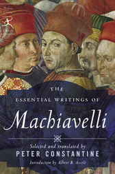 the works of niccolio machiavelli And hobbes to morgenthau and mearsheimer—it is niccolo machiavelli who   and yet the prince cannot be dismissed as a work of political opportunism.