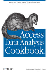 Access Data Analysis Cookbook by Ken Bluttman