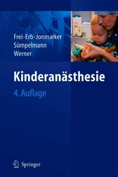 Kinderanästhesie (German Edition)