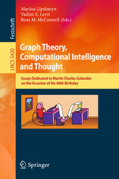 Graph Theory, Computational Intelligence and Thought by Marina Lipshteyn