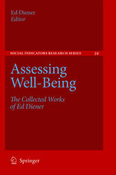 Assessing Well-Being by Alex C. Michalos