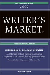 2009 Writer's Market Listings by Robert Brewer