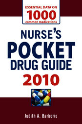 Nurse's Pocket Drug Guide 2010 by Judith A. Barberio