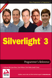 Silverlight 3 Programmer's Reference by J. Ambrose Little