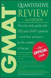 The Official Guide for GMAT Quantitative Review by GMAC (Graduate Management Admission Council)