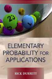 Elementary Probability for Applications by Rick Durrett