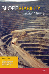 Slope Stability in Surface Mining by William A. Hustrulid
