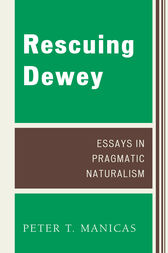 Rescuing Dewey by Manicas