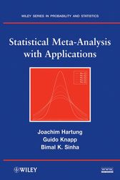 Statistical Meta-Analysis with Applications by Joachim Hartung
