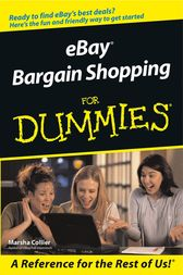 eBay Bargain Shopping For Dummies by Marsha Collier
