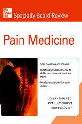 McGraw-Hill Specialty Board Review Pain Medicine Ebook