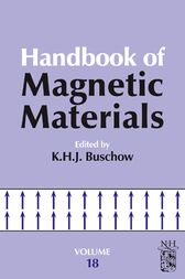 Handbook of Magnetic Materials by K.H.J. Buschow