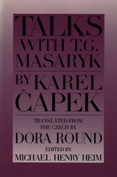Talks with T. G. Masaryk by Karel Capek