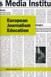 European Journalism Education by Georgios Terzis