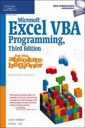 Microsoft Excel VBA Programming for the Absolute Beginner by Duane Birnbaum