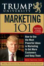 Trump University Marketing 101 by Don Sexton