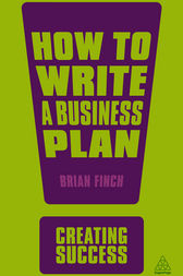 How to Write a Business Plan by Brian Finch