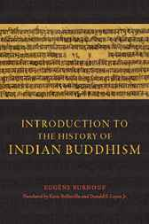 Introduction to the History of Indian Buddhism