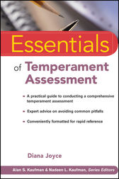 Essentials of Temperament Assessment by Diana Joyce