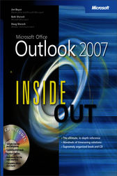 Microsoft® Office Outlook® 2007 Inside Out by Jim Boyce