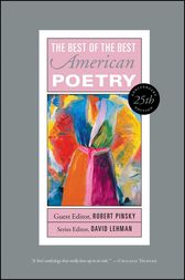 The Best of the Best American Poetry by David Lehman