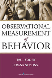 Observational Measurement of Behavior by Paul Yoder