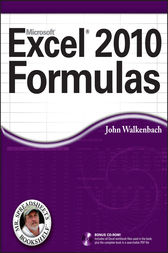 Excel 2010 Formulas by John Walkenbach